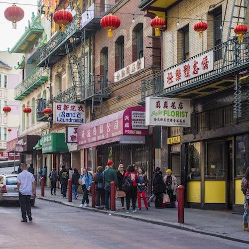Barrio chino de San Francisco: Té, templos y fábrica de galletas de la suerte