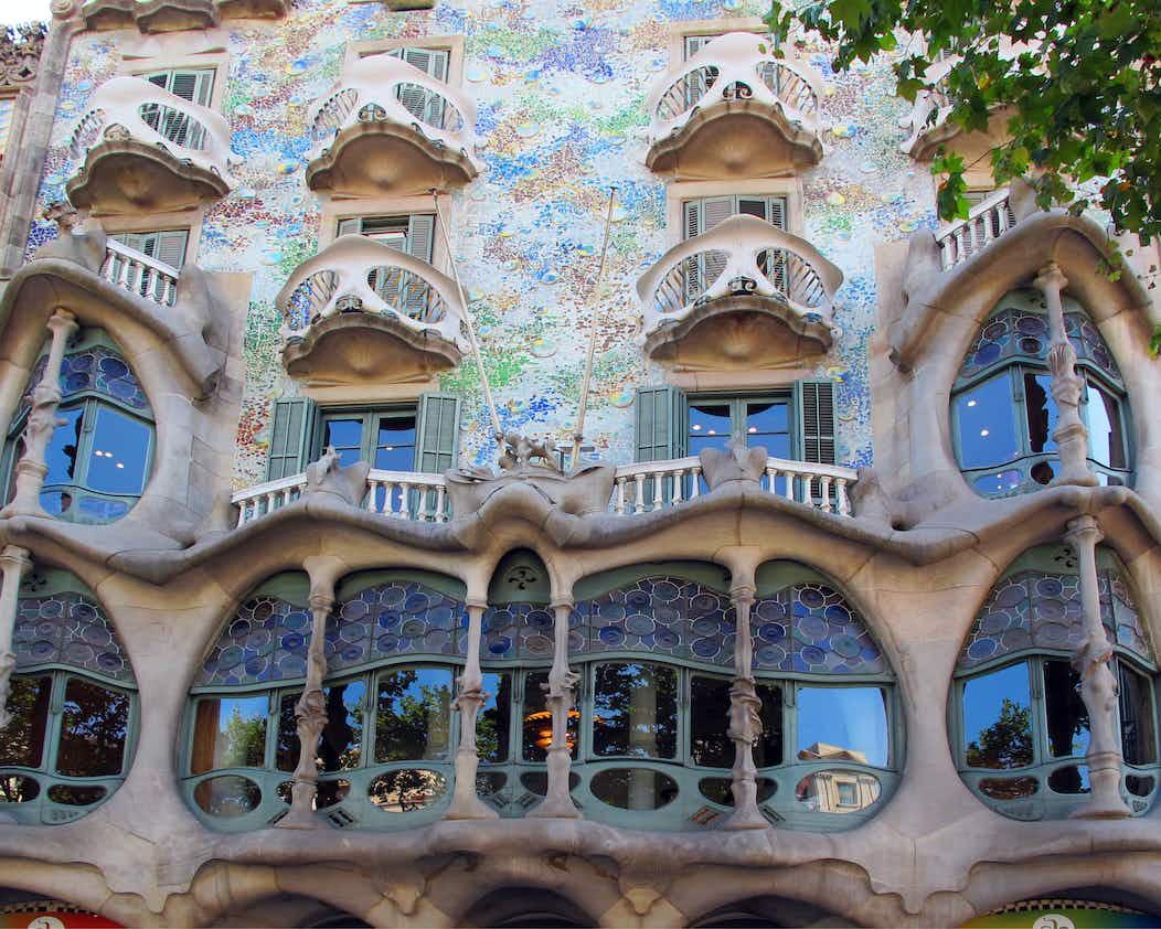 8a95adcfae Casa Batlló de Gaudí