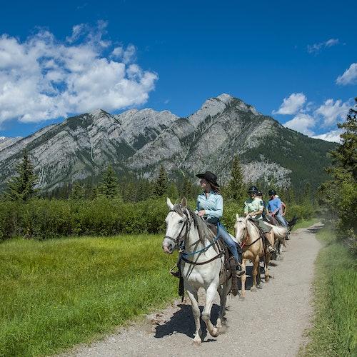 Sundance Loop Trail Ride from Banff