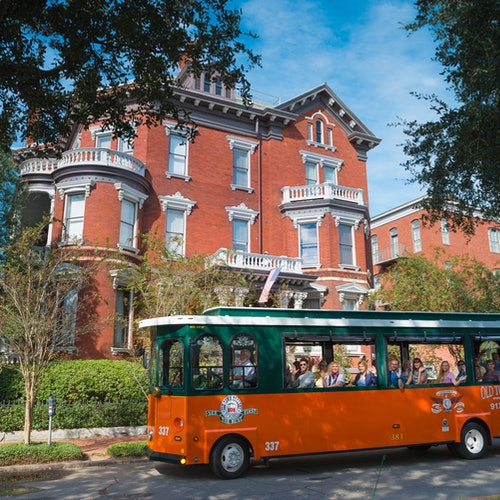 Old Town Trolley en Savannah