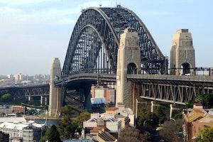 El puente de la bahía de Sídney