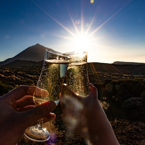 Teide by Night: Sunset & Stargazing Tour with Cava