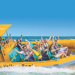 45-Minute Yellow Boat Dubai: Atlantis Blast