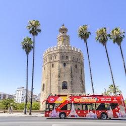 Imagen Autocarro (ônibus) hop-on hop-off em Sevilha