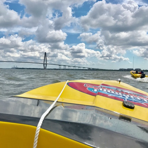 Charleston: Aventura en lancha motora