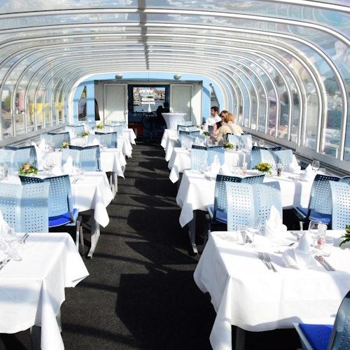 Cena y crucero a bordo del MS Der Fliegende Holländer Berlin