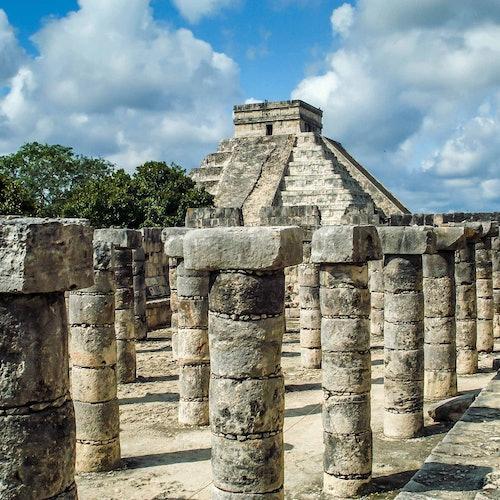 Chichén Itzá & Cenote: Visita guiada + transporte