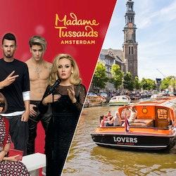 Tickets, museos, atracciones,Tickets, museums, attractions,Crucero por los canales,Canal Cruise,Madame Tussauds,Con actividad,Con crucero