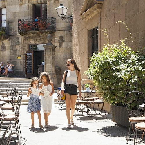 Poble Espanyol: Sin colas