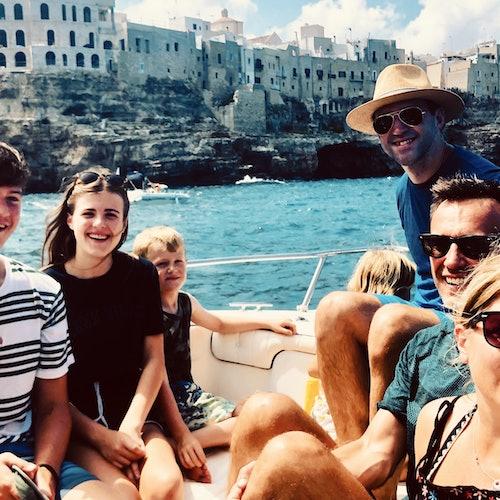 Polignano a Mare: tour en barco de 1 hora y media