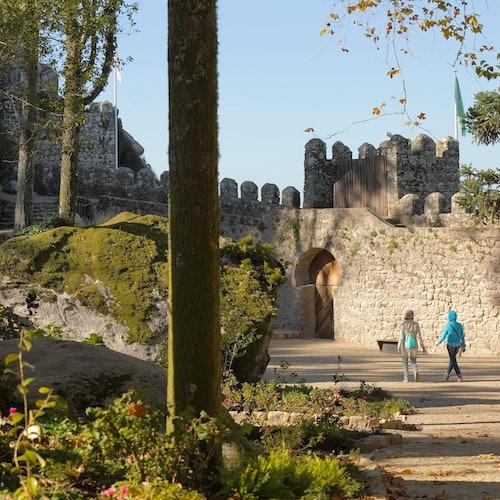 Castelo dos Mouros: Sin colas