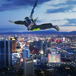SkyJump from the Stratosphere Tower
