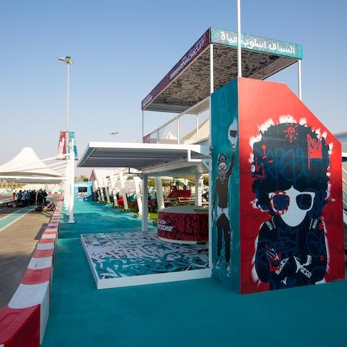 Experiencia de karting en el circuito Yas Marina