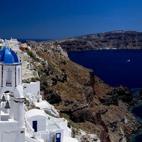 Santorini: Excursión de un día desde Atenas