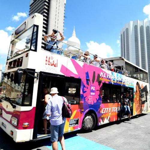 Bus turístico por Kuala Lumpur