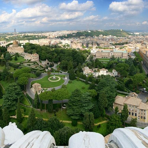 Jardines del Vaticano: Tour guiado en italiano + Museos Vaticanos