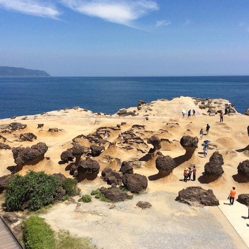 Costa norte de Taiwán: Tour de ida y vuelta desde Taipéi