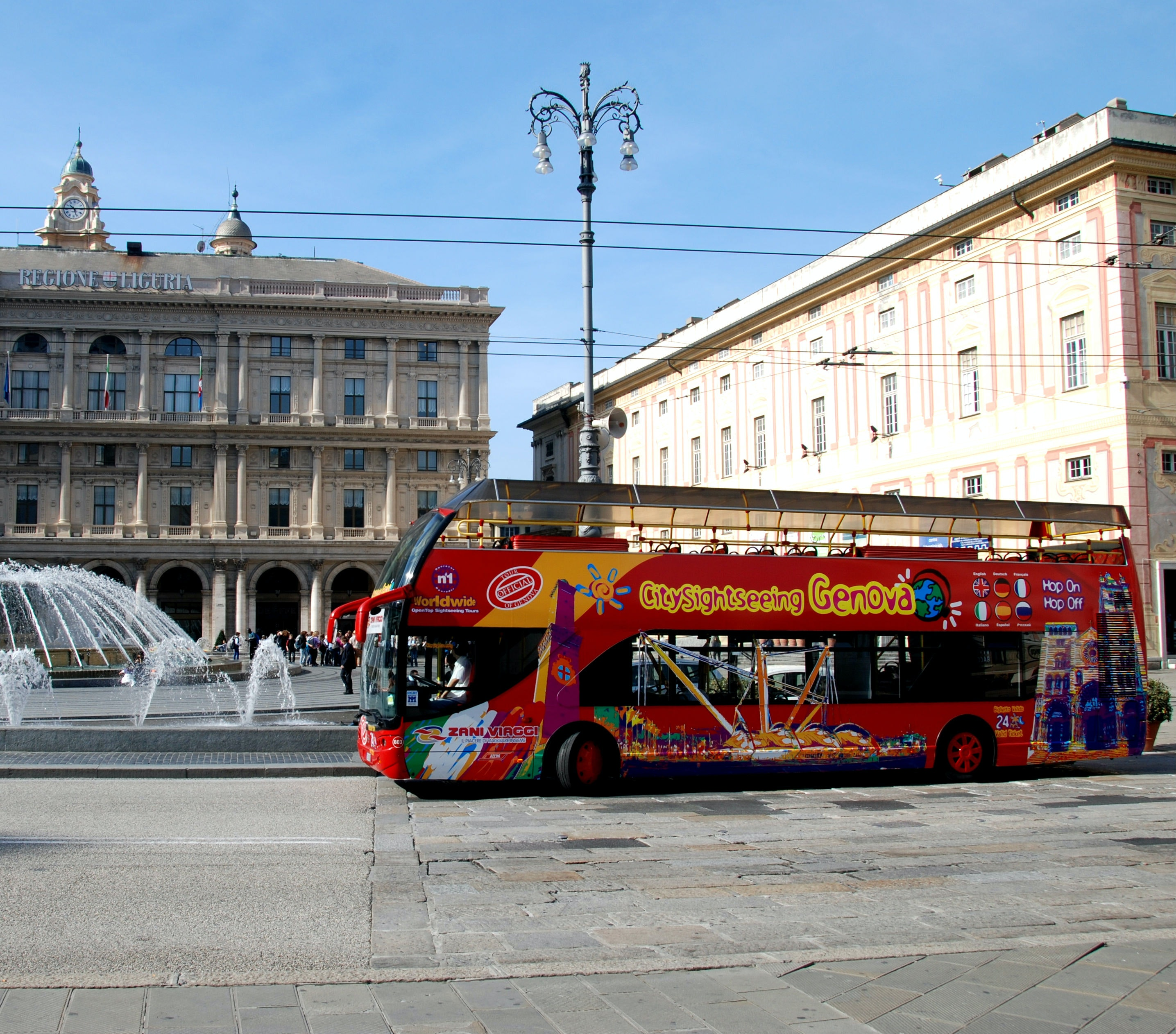 Tickets for Hop-on Hop-off Bus Genoa  Image