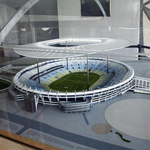 Estadio de Maracaná: sin colas