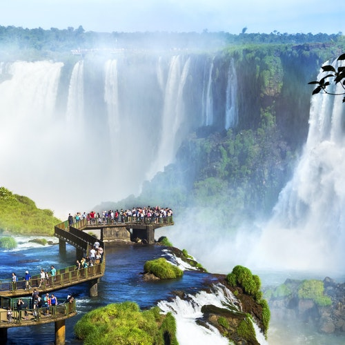 Cataratas de Iguazú lado brasileño: Entrada, tour guiado y transporte