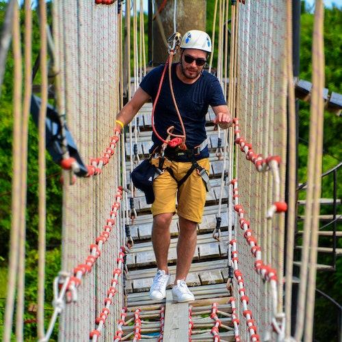 Bavaro Park: Excursión en buggy + Tirolina