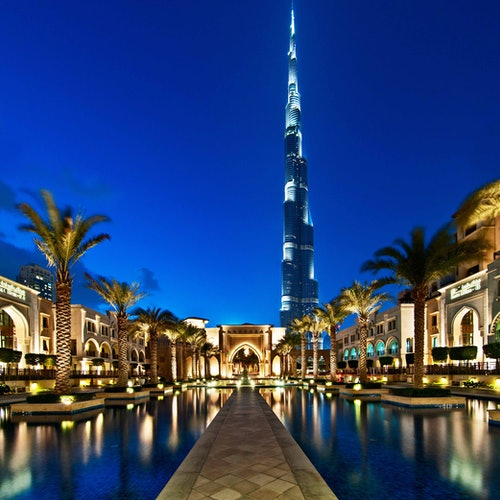 Burj Khalifa: Pisos 124 y 125 + Acuario de Dubái