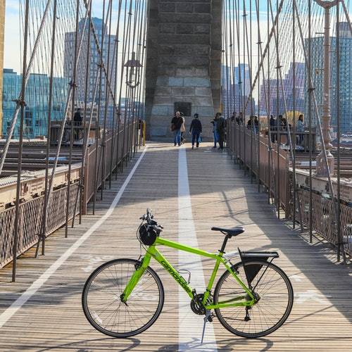 Unlimited Biking: Alquliler de bicis del puente de Brooklyn