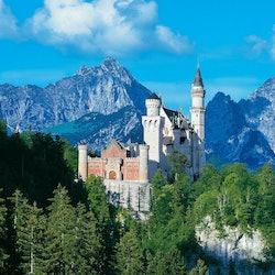Tickets, museos, atracciones,Castillo de Neuschwanstein,Con visita a Linderhof,Tour por los Castillos
