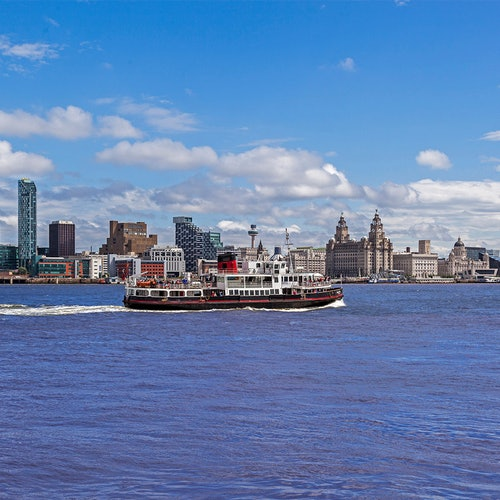 Do the Double: Crucero en ferry por el Mersey + Tour en bus