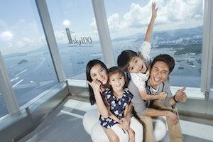 Piattaforma di Osservazione sky100 Hong Kong