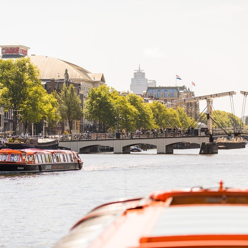 Crucero por los canales de Ámsterdam