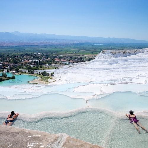 Hierápolis + Travertinos de Pamukkale: Excursión desde Antalya