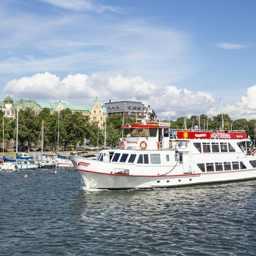 Bus y barco turístico Helsinki