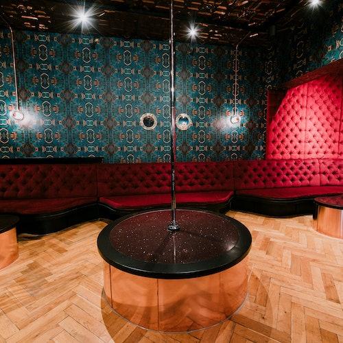 Club de striptease BonTon de Ámsterdam: Visita guiada
