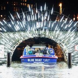 Amsterdam Light Festival: Blue Boat Company