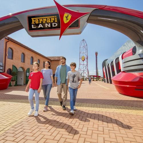 Ferrari Land: Entrada directa
