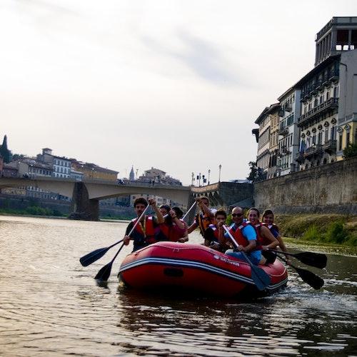Excursión de rafting en Florencia