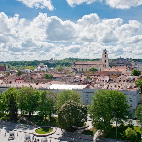 Campanario de la Catedral de Vilna