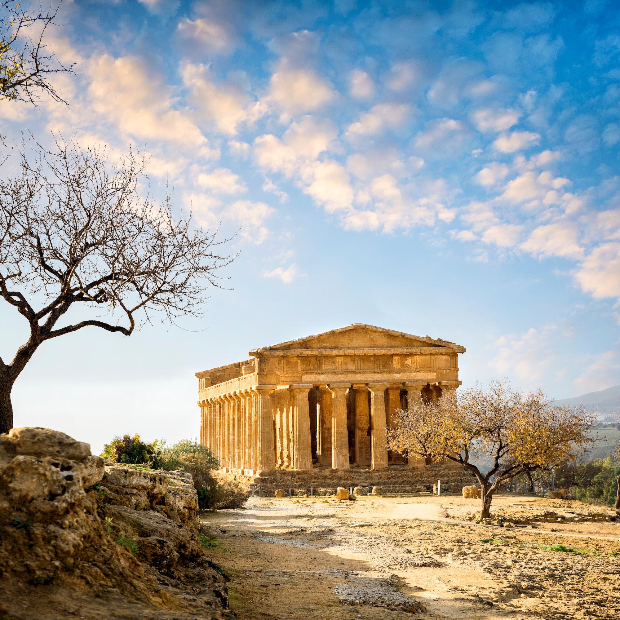 De Vallei van de Tempels in Agrigento + Audiogids cover