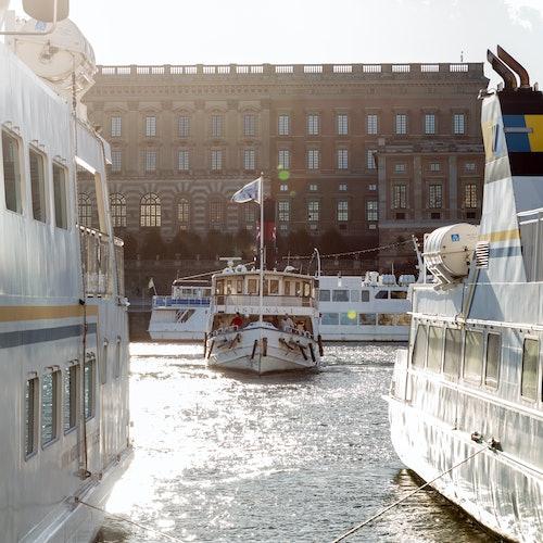 Barco turístico de Estocolmo