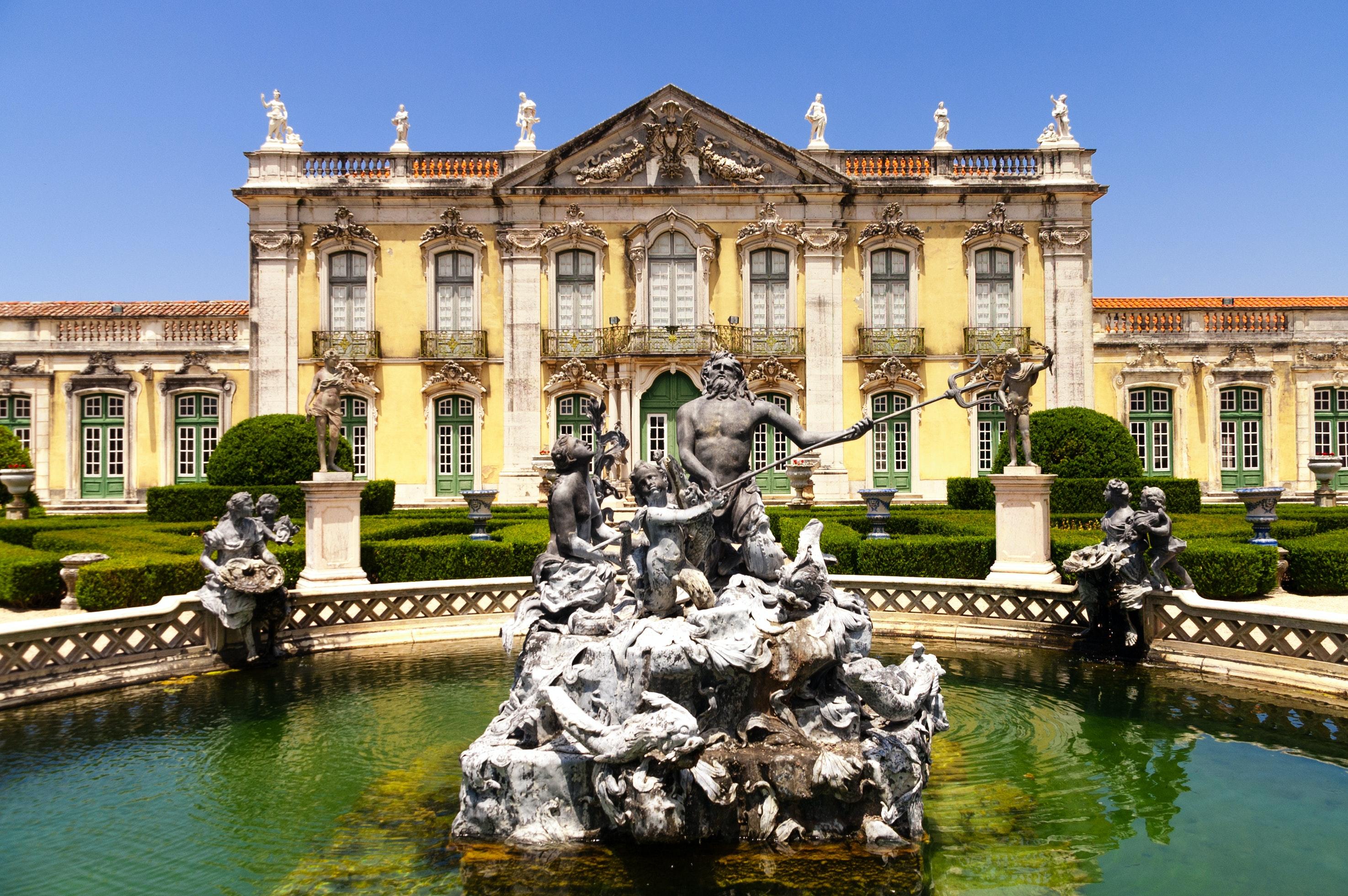 Palais National et Jardins de Queluz : Coupe-File