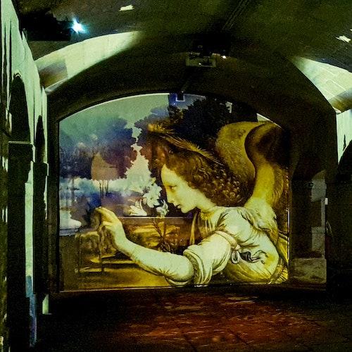 Il Divino Michelangelo e Il Genio Da Vinci: Sin colas