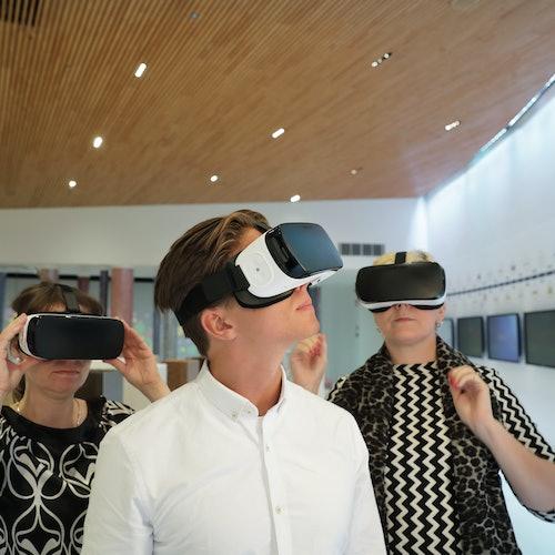 Exposición Fazer Experience en el Centro de visitantes: Visita guiada
