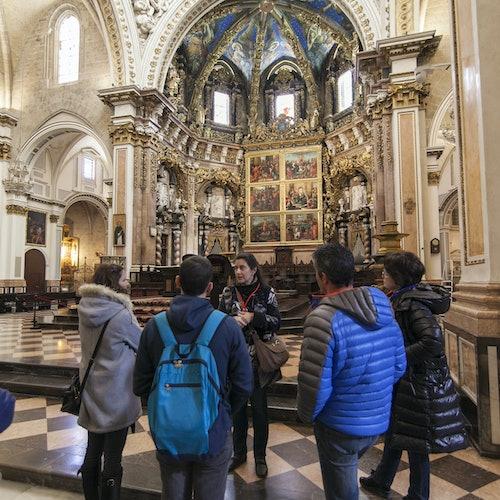 Grial y arte religioso: Visita guiada