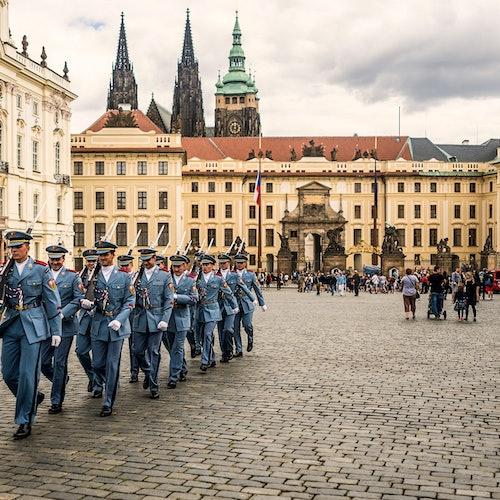 Castillo de Praga: Sin colas