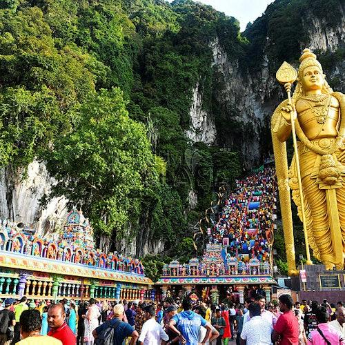 Kuala Lumpur Suburbs & Batu Caves Tour