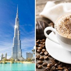 Burj Khalifa: 124th & 125th Floors + Café