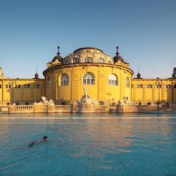 Tickets, museos, atracciones,Tickets, museums, attractions,Balneario Széchenyi,Balnearios de Budapest,Balneario Széchenyi