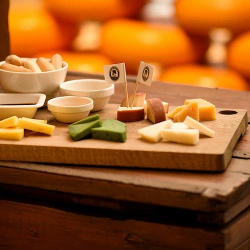 Degustación de queso holandés en Henri Willig