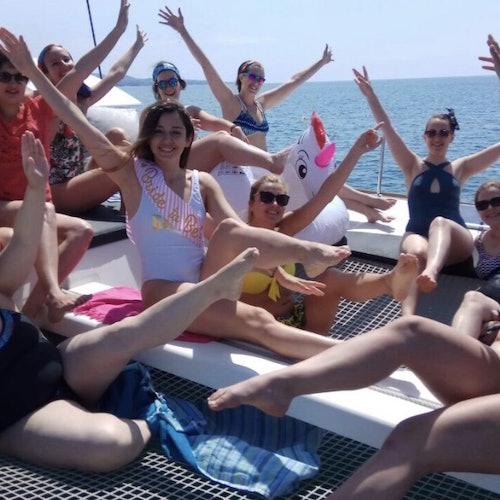 Excursión en catamarán en Marbella